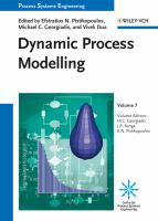 Cover image for Dynamic process modeling