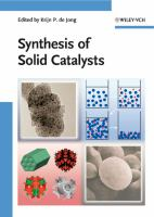 Cover image for Synthesis of solid catalysts