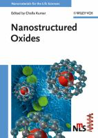 Cover image for Nanostructured oxides