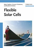 Cover image for Flexible solar cells