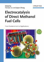 Cover image for Electrocatalysis of direct methanol fuel cells : from fundamentals to applications