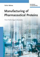 Cover image for Manufacturing of pharmaceutical proteins : from technology to economy