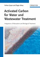 Cover image for Activated carbon for water and wastewater treatment : integration of adsorption and biological treatment