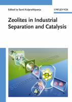 Cover image for Zeolites in industrial separation and catalysis