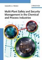 Cover image for Multi-plant safety and security management in the chemical and process industries