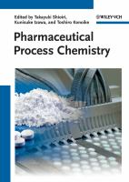 Cover image for Pharmaceutical process chemistry