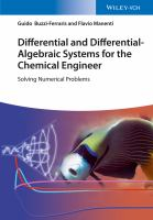 Cover image for Differential and differential-algebraic systems for the chemical engineer : solving numerical problems