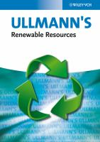 Cover image for Ullmann's renewable resources