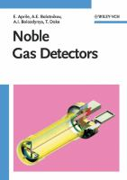 Cover image for Noble gas detectors