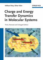 Cover image for Charge and energy transfer dynamics in molecular systems