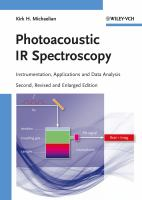 Cover image for Photoacoustic IR spectroscopy : instrumentation, applications and data analysis