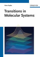 Cover image for Transitions in molecular systems