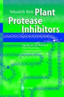Cover image for Plant protease inhibitors : significance in nutrition, plant protection, cancer prevention, and genetic engineering