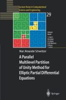 Cover image for A parallel multilevel partition of unity method for elliptic partial differential equations