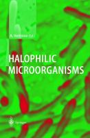 Cover image for Halophilic microorganisms