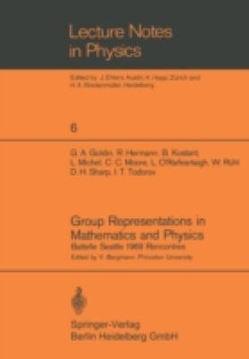 Cover image for Group representations in mathematics and physics