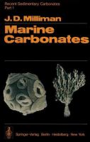 Cover image for Recent sedimentary carbonates