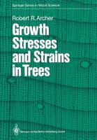 Cover image for Growth stresses and strains in trees