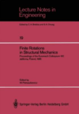 Cover image for Finite rotations in structural mechanics