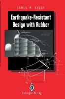 Cover image for Earthquake-resistant design with rubber