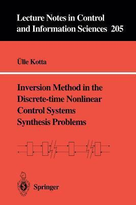 Cover image for Inversion method in the discrete-time nonlinear control systems synthesis problems