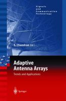 Cover image for Adaptive antenna arrays : trends and applications