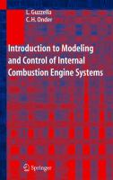 Cover image for Introduction to modeling and control of internal combustion engine systems