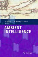 Cover image for Ambient intelligence