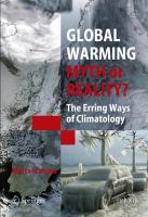 Cover image for Global warming : myth or reality : the erring ways of climatology