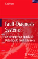 Cover image for Fault-diagnosis systems : an introduction from fault detection to fault tolerance