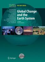 Cover image for Global change and the earth system a planet under pressure