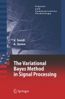 Cover image for The variational Bayes method in signal processing