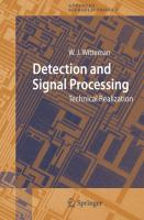 Cover image for Detection and signal processing : technical realization