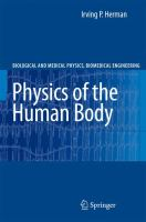 Cover image for Physics of the human body