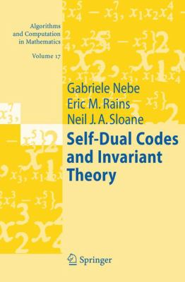 Cover image for Self-dual codes and invariant theory