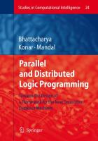 Cover image for Parallel and distributed logic programming : towards the design of a framework for the next generation database machines