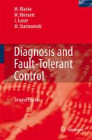 Cover image for Diagnosis and fault-tolerant control