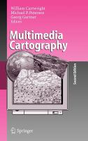 Cover image for Multimedia cartography
