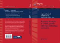 Cover image for Advanced Strategies in Control Systems with Input and Output Constraints