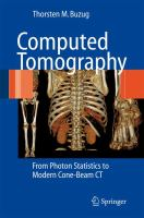 Cover image for Computed tomography : from photon statistics to modern cone-beam CT