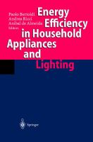 Cover image for Energy efficiency in household appliances and lighting