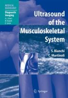 Cover image for Ultrasound of the musculoskeletal system