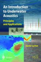 Cover image for An introduction to underwater acoustics : principles and applications