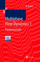 Cover image for Multiphase flow dynamics
