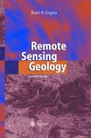 Cover image for Remote sensing geology