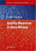 Cover image for Quality measures in data mining