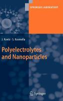 Cover image for Polyelectrolytes and nanoparticles