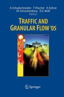 Cover image for Traffic and Granular Flow `05