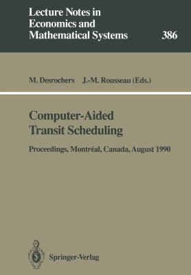 Cover image for Computer-aided transit scheduling