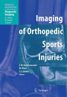 Cover image for Imaging of Orthopedic Sports Injuries